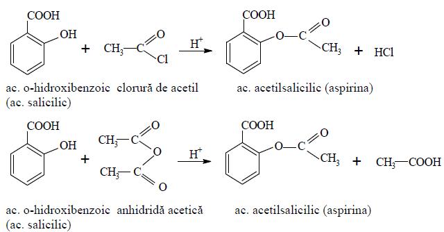 esterificarea-acidului-salicilic