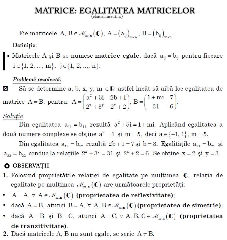 egalitatea_matricelor_ebacalaureat.ro