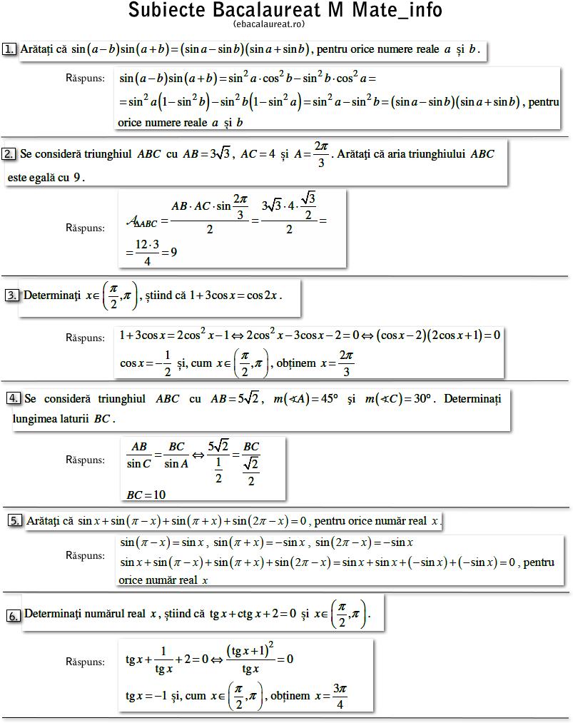 subiecte-matematica-bacalaureat-trigonometrie